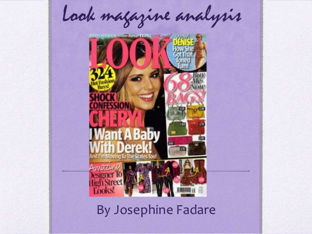 Look magazine analysis    By Josephine Fadare