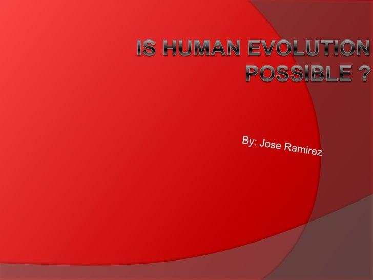 Jose ramirez presention