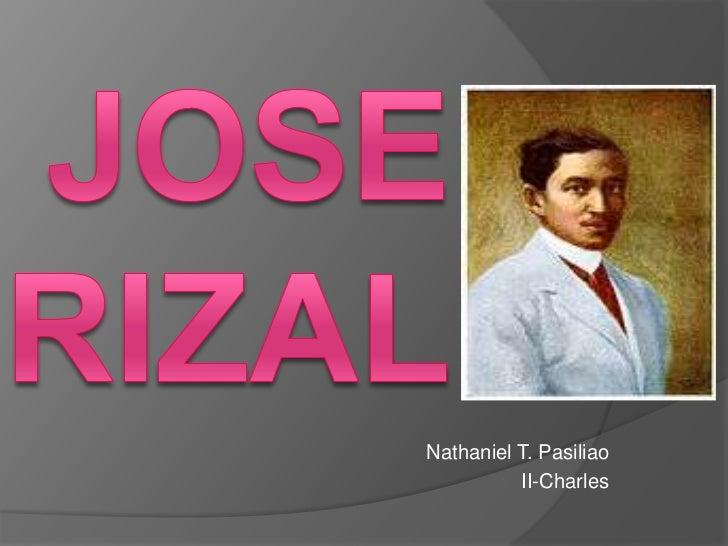 Nathaniel T. Pasiliao          II-Charles