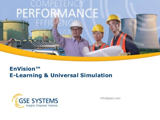 Envision E-Learning & Universal Simulation