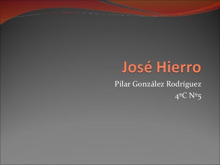 Pilar González Rodríguez 4ºC Nº5