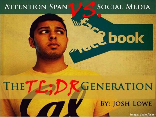 Attention Span Vs. Social Media