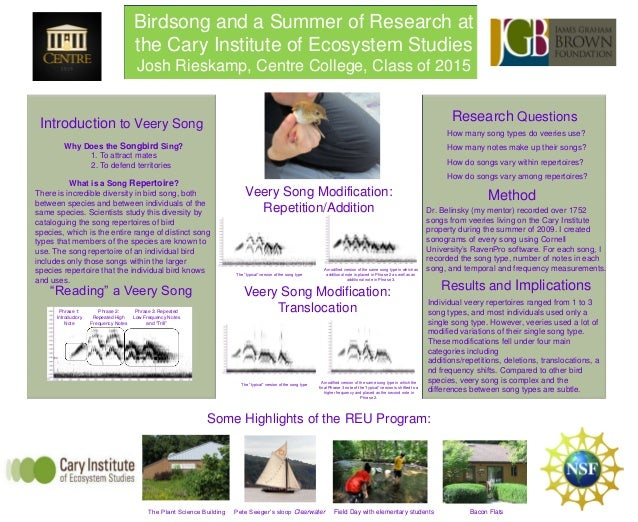 Birdsong and a Summer of Research at the Cary Institute of Ecosystem Studies by Josh Rieskamp