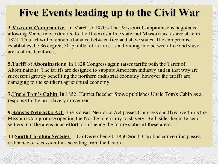 economic causes of the civil war essay