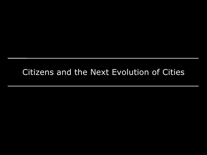 TEDxCLE - Josh Taylor - Citizens & the Next Evolution of Cities