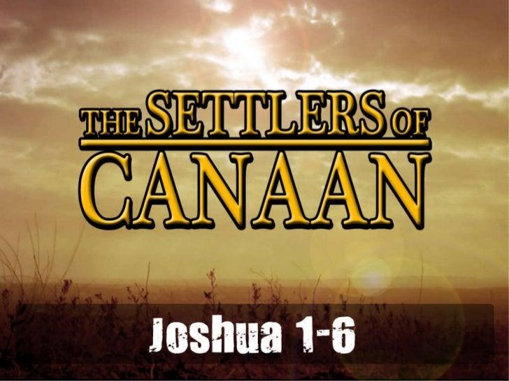Joshua 1 6
