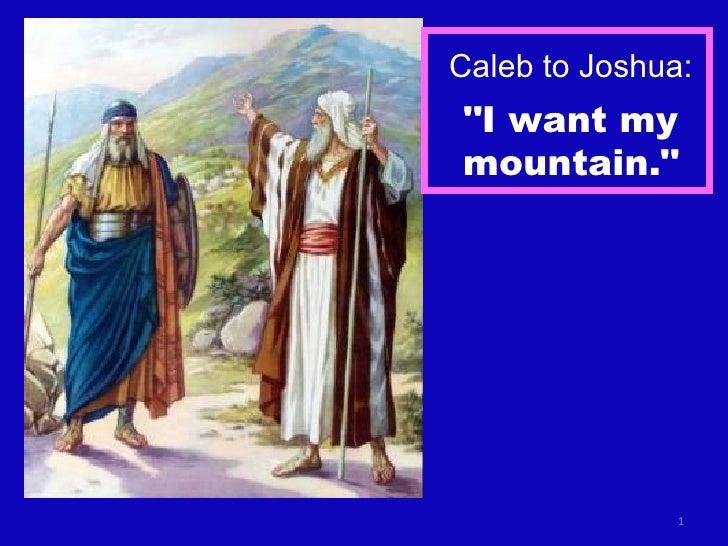 Joshua 14a