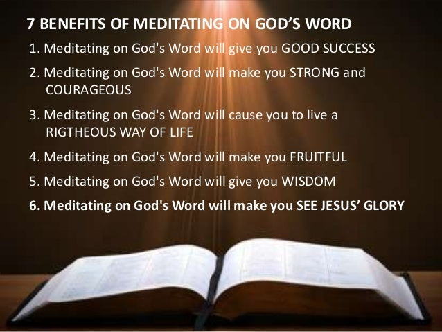 how to meditate and talk to god