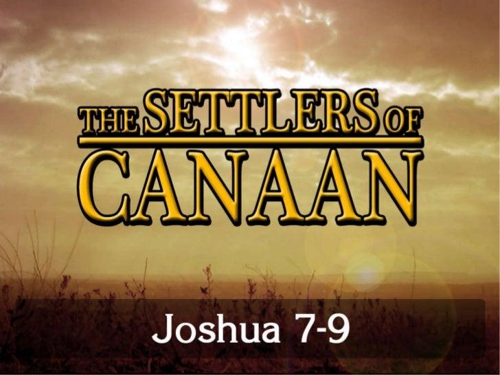 Joshua 7 9