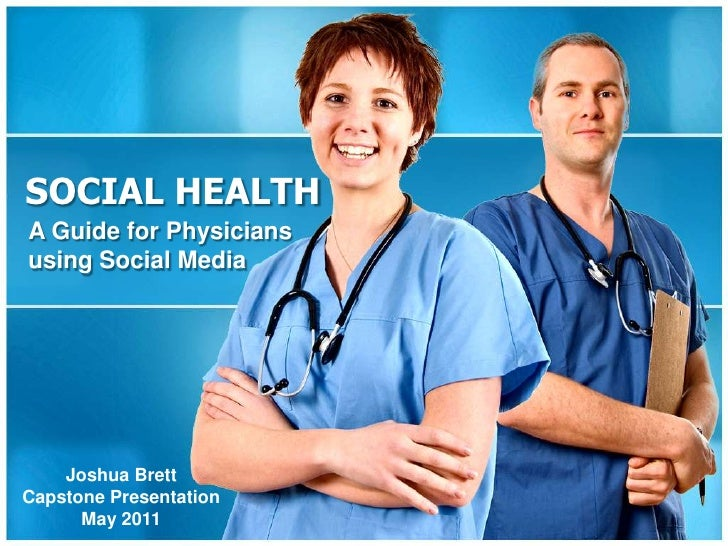 How Physicians Can Use Social Media Professionally