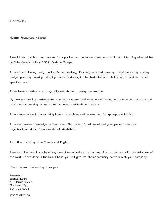 Submit my resume