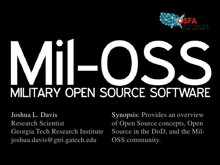 Mil-OSS @ 47th Annual AOC Convention