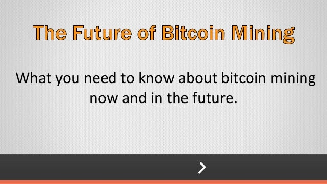 Future of Bitcoin Mining- Josh Zerlan
