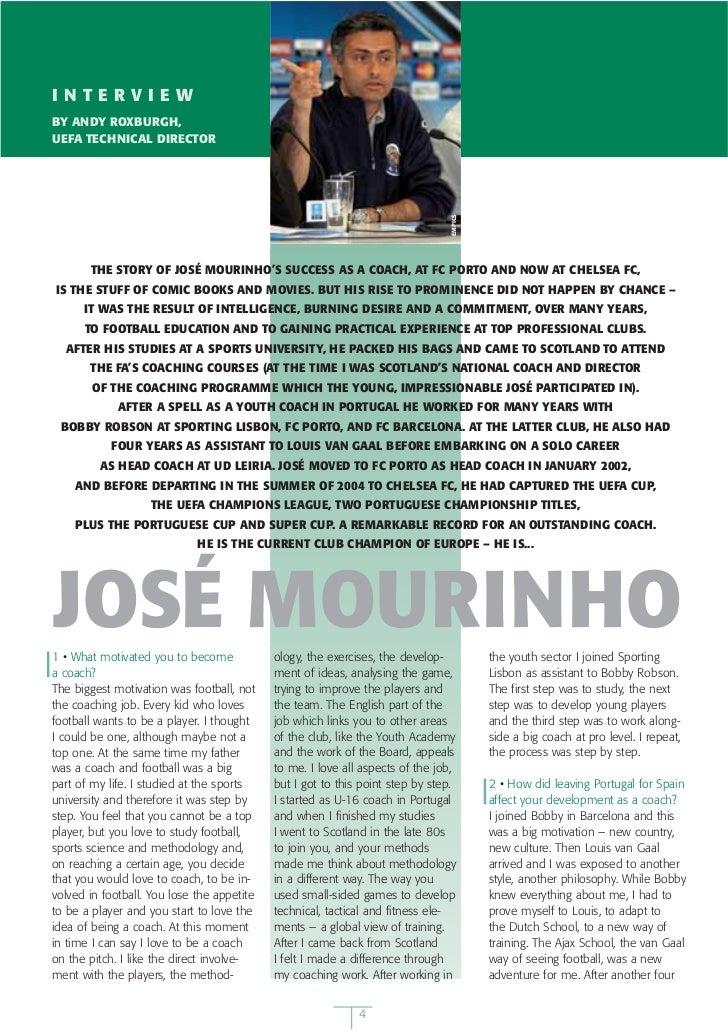 José Mourinho Interview