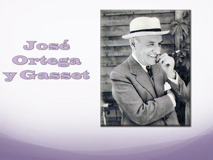 José ortega y gasset (con immagini)