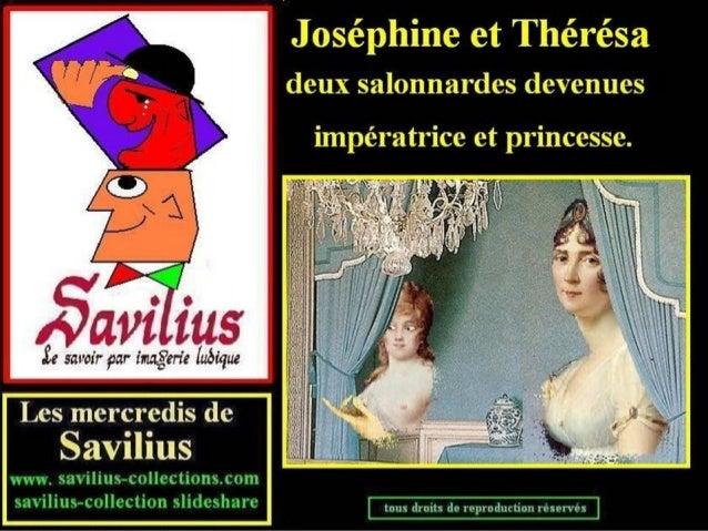 Joséphine et Thérésa deux salonnardes