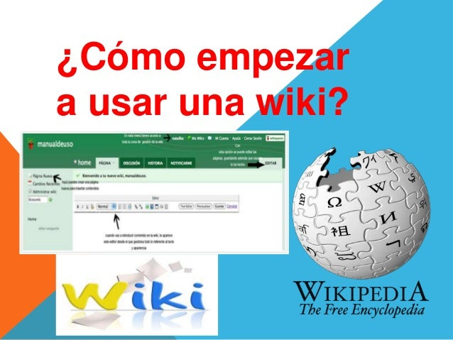 ¿Cómo empezar a usar una wiki?