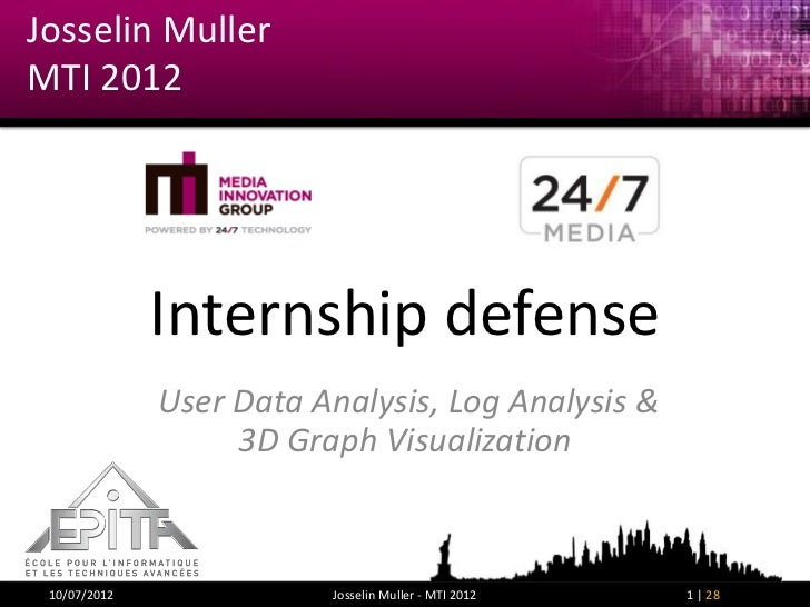 Josselin Muller - final defense