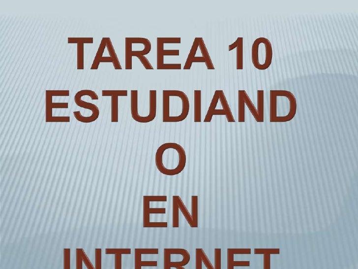 ESTUDIANDO EN INTERNET La educación por internet esta experimentado un gran auge, cada día haymas sitios web que ofrecen c...