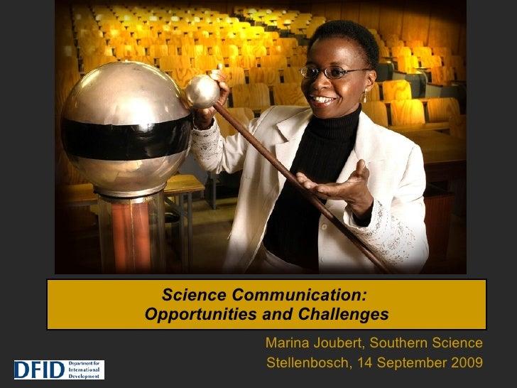 Joubert Science Communication