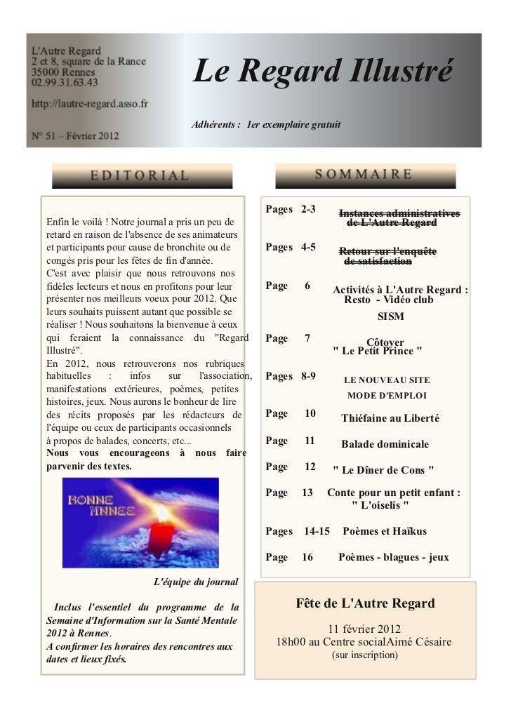 Journal n°51 Janvier 2012