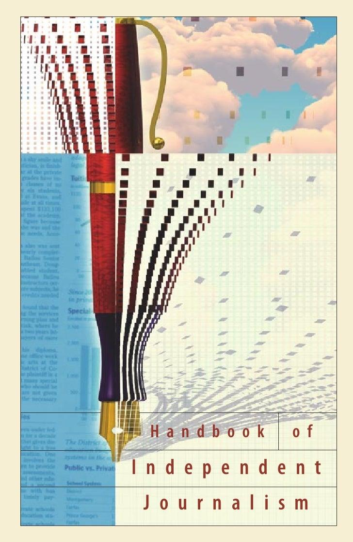 Handbook Independent Journalism