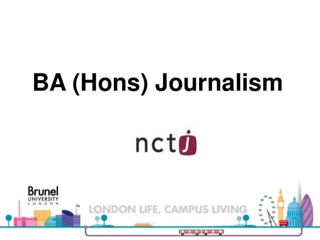 Course Presentation: Journalism
