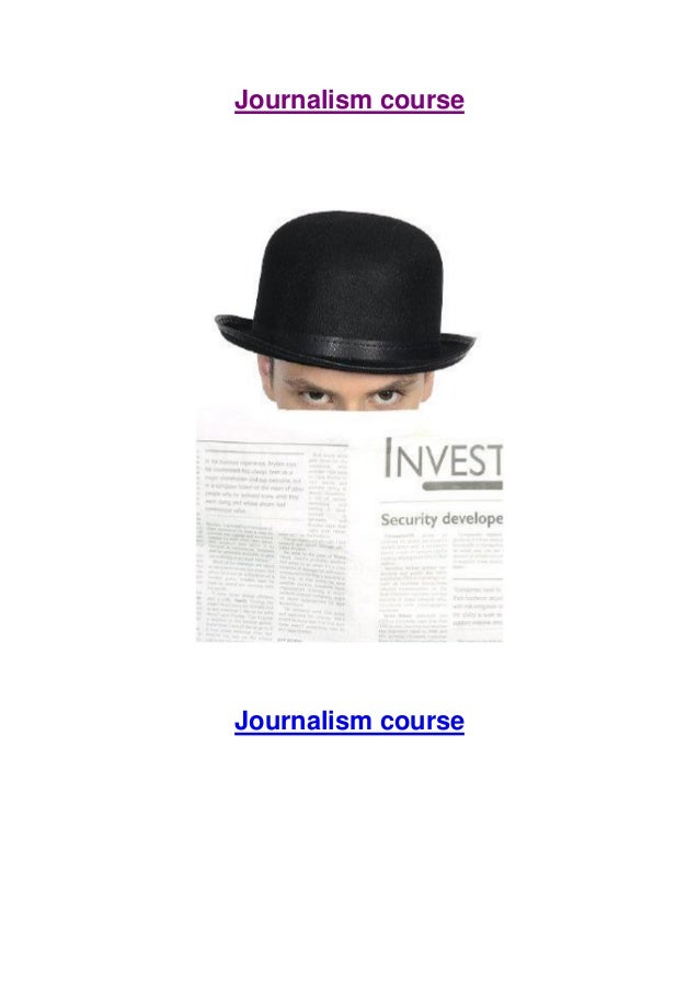 Journalism courses to improve your CV
