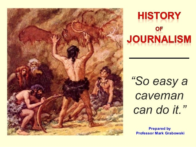 objectivity in journalism and the evolution of technology Big picture analysis & overview of history of american journalism media has lost its objectivity and become evolution of america's newspapers and the.