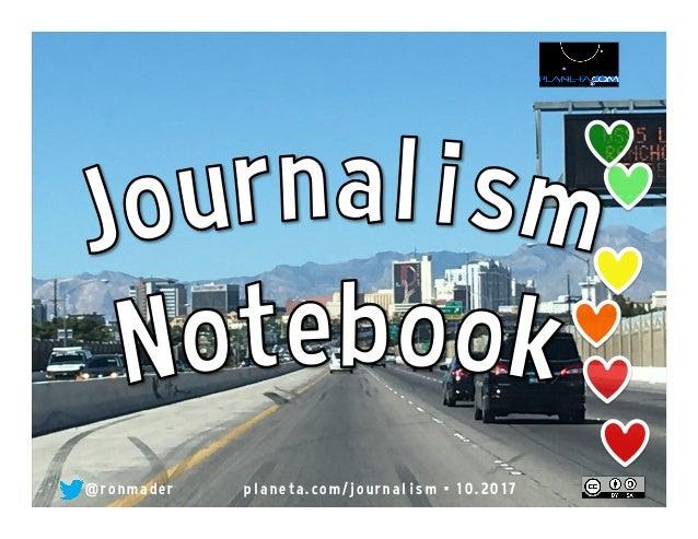 Journalism notebook