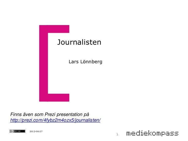 Journalisten Mediekompass Värmland-Dalsland