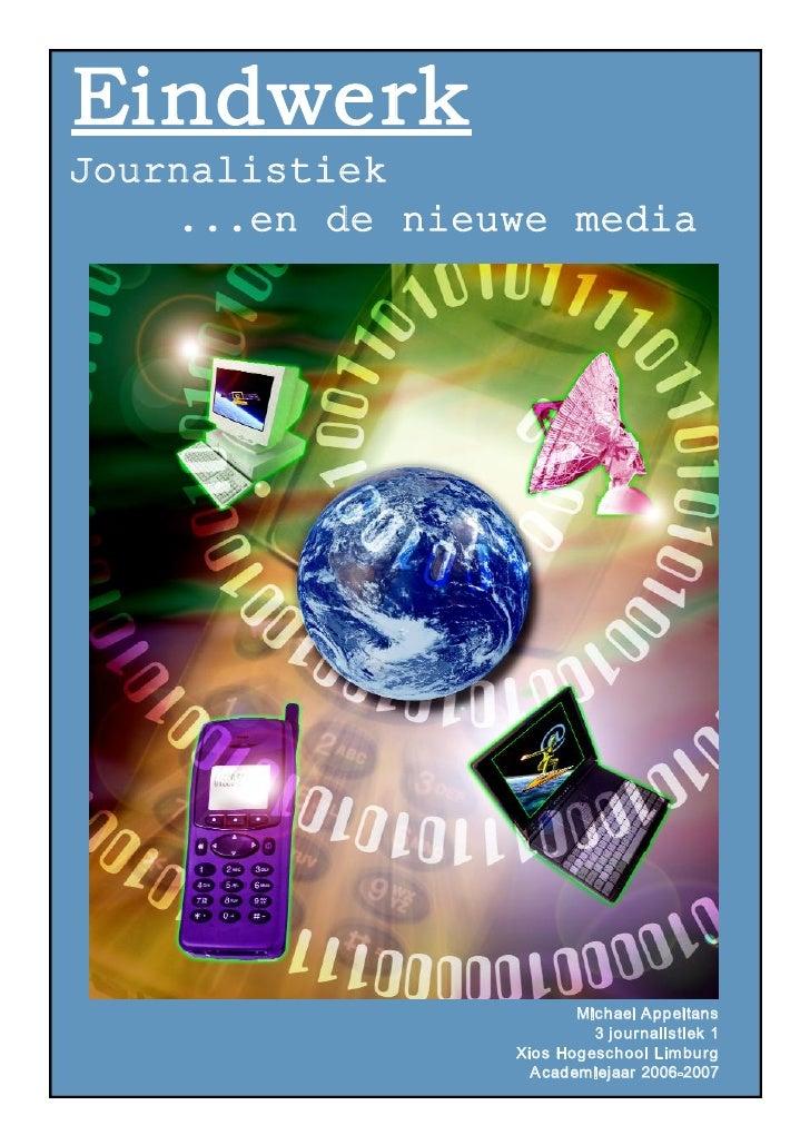 Journalistiek en de nieuwe media