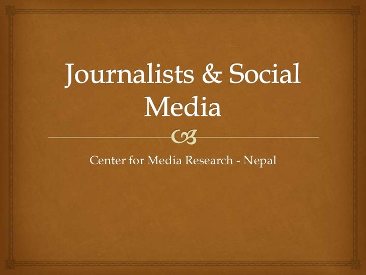 Center for Media Research - Nepal