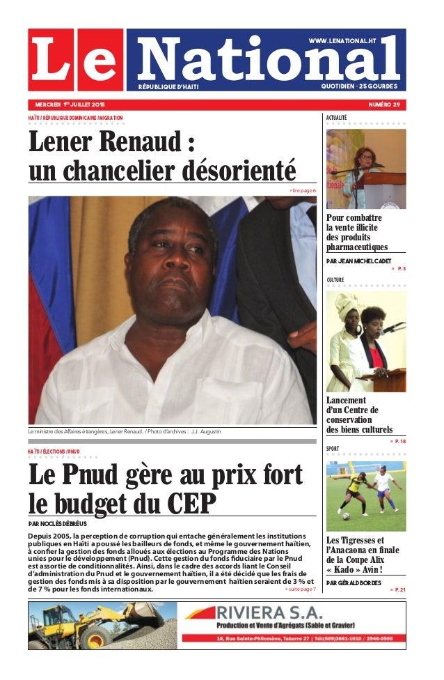 Depuis 2005, la perception de corruption qui entache généralement les institutions publiques en Haïti a poussé les bailleu...