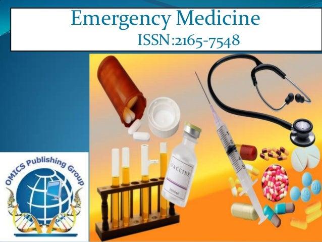 Emergency Medicine      ISSN:2165-7548