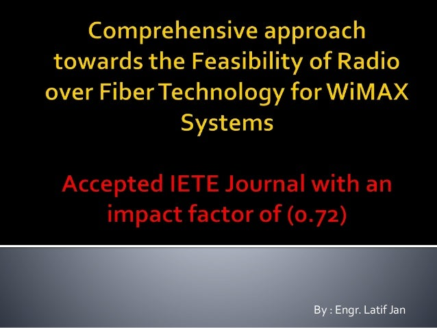 thesis on radio over fiber Performance analysis of digital radio over in this thesis analysis has been done between analog & digital radio over fiber link in 40 & 60 ghz in this thesis.
