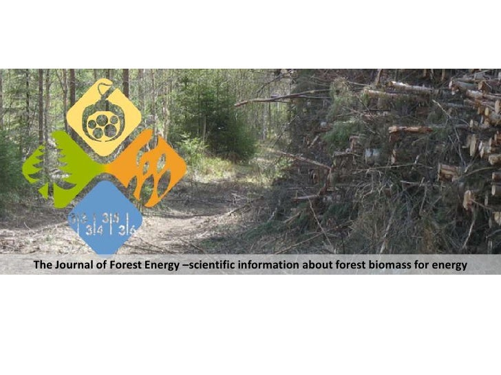 The Journal of Forest Energy –scientific information about forest biomass for energy<br />