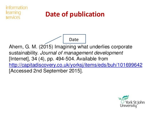 Reference of journal