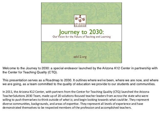 Journey to 2030 Roadmap