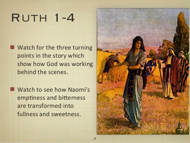 Journey Through The Bible Part 8: The Book of Ruth ...