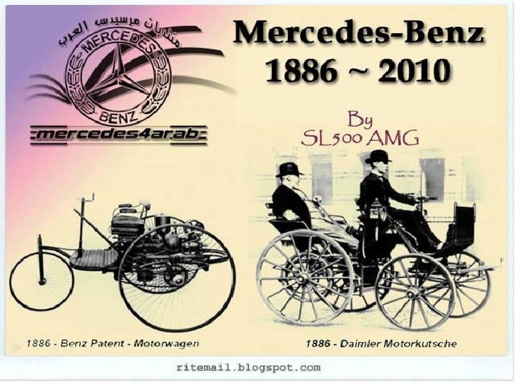 Evolution of Mercedes - Benz