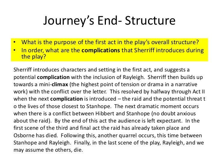 journeys end r c sherriff character of stanhope essay