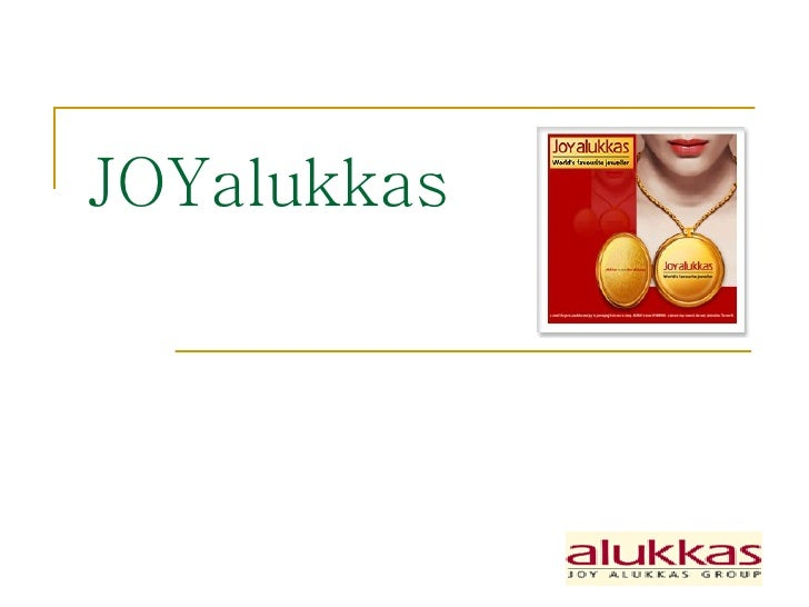 Joy Alukkas