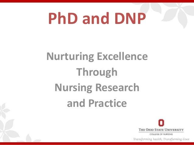 Phd for nurses