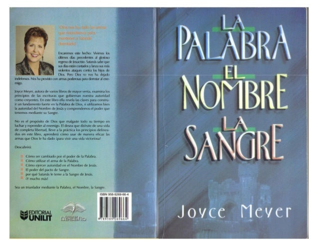 LA PALABRA, EL NOMBRE Y LA SANGRE - Joyce Meyer