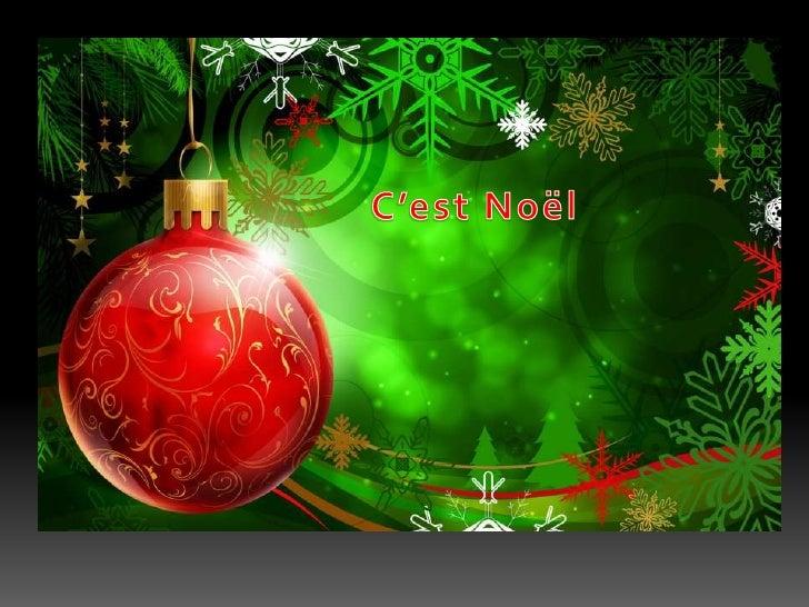 C'est Noël <br />