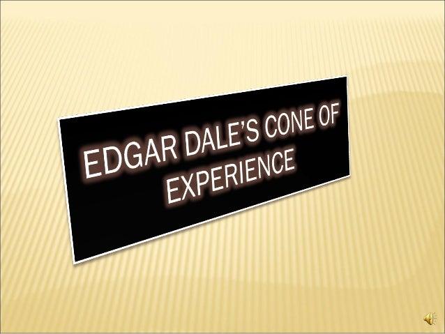 Joyt edgar dale's cone of experience