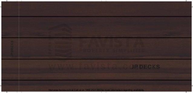 Jp deck brochure 3119 Favista Real Estate