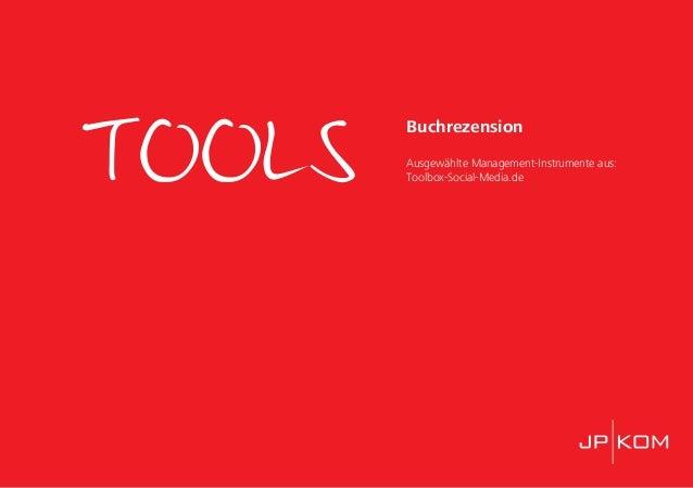 TOOLS Buchrezension Ausgewählte Management-Instrumente aus: Toolbox-Social-Media.de
