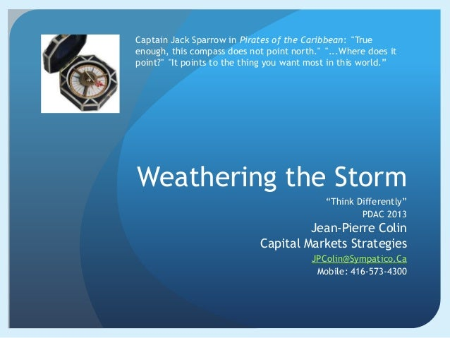 Weathering The Storm by Jp Colin